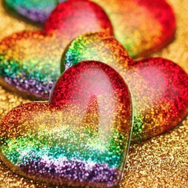 rainbox hearts